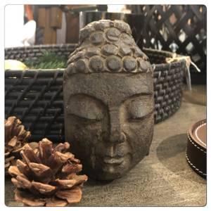 Bilde av Buddhas hode i sten